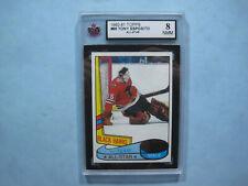 1980/81 TOPPS NHL HOCKEY CARD #86 TONY ESPOSITO AS KSA 8 NM/MINT SHARP+ 80/81