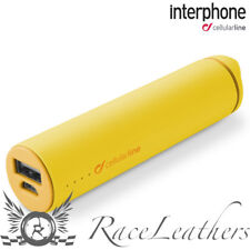 INTERPHONE POWERBANK PORTABLE USB BATTERY PACK CHARGER PHONE INTERCOM ETC YELLOW