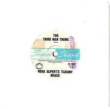 "HERB ALPERT - THE THIRD MAN THEME / BITTERSWEET SAMBA - 7"" 45 VINYL RECORD"