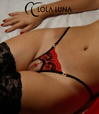 Sexy Lola Luna String Victoria ° Open ° Taglia M