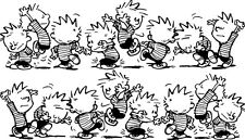 Sticker Calvin & Hobbes 103 Frise - 100x57 cm