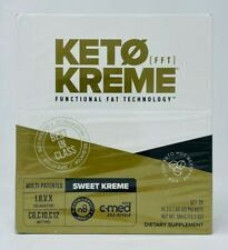 Pruvit Keto Sweet Kreme - Functional Fat Technology (FFT) 20 Packets NEW