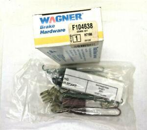 Wagner F104638 Drum Brake Hardware Kit For 1981-1994 Ford Mercury Escort Topaz