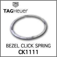 • TAG Heuer Rotating Bezel Click Spring Stainless Steel Swiss Made For CK1111 •