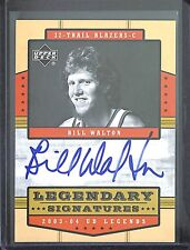 2003-04 Upper Deck UD Legends Autograph #LS-Bill Walton