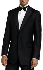 Men's Black Tuxedo. Size 44R Jacket & 37R Pants. Formal, Wedding, Prom, Dress