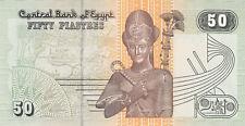 Egypt 50 Piastres (28.11.2007) - Mosque/Ramses II/ p62 UNC