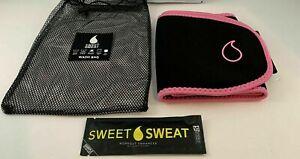 New Sports Research Sweet Sweat Premium Waist Trimmer Men & Women Medium