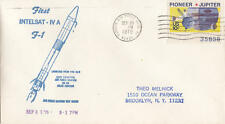 US Naval Space cachet cover First Intelsat-IV A F-1 1975