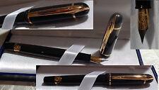 Waterman PHILEAS Füllfederhalter  (F) Farbe : schwarz gold