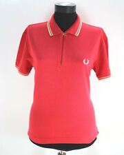 Women's FRED PERRY Polo Shirt, Size L Large, Top, Cotton, Short sleeves  #BL1966