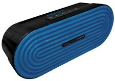 HMDX Jam Classic RAVE Portable Rechargeable Bluetooth Wireless Speaker Blue BNIB