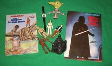 STAR WARS DARTH VADER BRADLEY WATCH YODA LUKE HAN LEIA FIGURE EMPIRE POP-UP BOOK