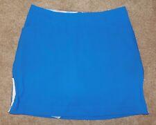 Nike Golf Sz 10 Skirt Shorts Blue Fit Dry Athletic Skort Tennis