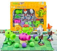 Plants VS Zombies Action Figure PVZ Pea Shooter & Zombie Figure Toy Set Game