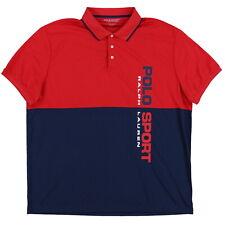 Polo Ralph Lauren Sport Mens Polo Shirt Short Sleeve Performance New M Xxl