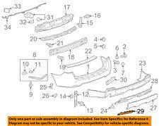 GMC GM OEM 10-15 Terrain Rear Bumper-Access Cover 25798816