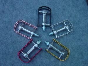 MKS Bm 7 a Pair Tourenpedalel Aluminium 9/16 Many Colours