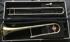 Getzen Trombone 300 Series Model 301 With Mouth Piece And Case