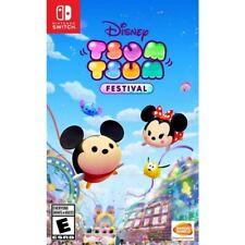 Disney Tsum Tsum Festival (Nintendo Switch, ) Brand New -