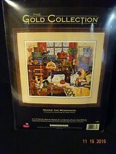 1998 New The Gold Collection Maggie The Mess Maker Cross Stitch 18x16 # 3884