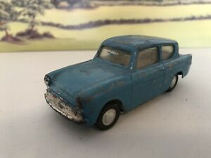 Rare vintage Triang Spot-on Ford Anglia renovation project