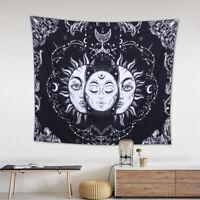 Sonne und Mond Wandbehang Wandteppich Tapisserie Tagesdecke Wand Hängen Deko HS