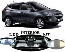 LED Package - Interior + License + Vanity + Reverse for Hyundai Tucson (12 Pcs)