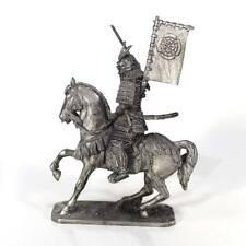 "Tin toy metal  soldier ""Mounted Samurai, 16th cent."" 1/32 (54mm) #M130"