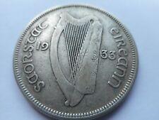 1933 IRELAND/IRISH/EIRE  PRE-DECIMAL HALF CROWN COIN  IN EXCELLENT CONDITION