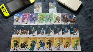 24 Zelda Amiibo NFC Cards + 2 Bonus Metroid Cards - USA Switch Link 3DS