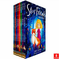 Star Friends Series 8 Books Collection Set By Linda Chapman Mirror Magic