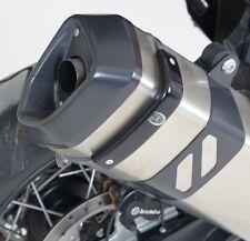 Honda CBR1000RR Fireblade 2013 R&G Racing Exhaust Protector / Can Cover EP0014BK