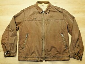 Camel Active Rugged Adventure Jacket Light Faded Brown Discolored Men's Size XL