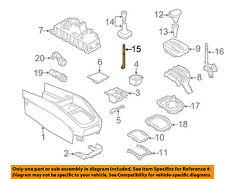 VW VOLKSWAGEN OEM 99-05 Jetta Front Center Console-Shift Lever 1J0711112E