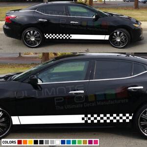 Sticker Decal for Nissan Maxima xenon side front carbon light mirror bumper rear
