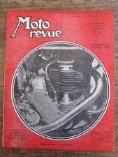 ANCIENNE REVUE MOTO REVUE N° 1147 AOUT 1953 TECHNIQUE GRAND PRIX NORTON