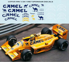 1/20 CAMEL FOR TAMIYA LOTUS 99T A. SENNA DECALS TB DECAL TBD9