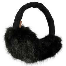 BARTS NEW Womens Black Fur Earmuffs BNWT