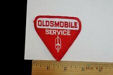 """Vintage  Oldsmobile Service Dealer Sew-on Embroidered Patch 2.75"""""""