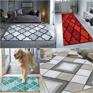 Washable Carpet Indoor Outdoor Large Area Rugs Hallway Runner Non Slip Door Mat
