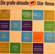 "DIE GRANDES ACTUAL REVISTA ESTRELLA - MARTIN LAUER - PETER KRAUS 12"" LP (U193)"