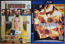 Interview / Magnolia / Unrelated / New York, I Love You / 4 DVDs