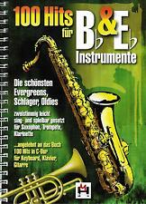 Saxophon Klarinette Trompete Bläser Noten: 100 Hits für B & Es Instrum. B-WARE