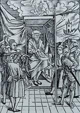 ULRICH TENGLER NEÜ LAYENSPIEGEL HOLZSCHNITT KÖNIG THRON AUGSBURG RYNMANN 1511
