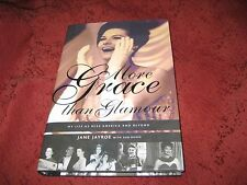 MORE GRACE THAN GLAMOUR by Jane Jayroe (hardback)  Signed