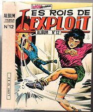 ALBUM LES ROIS DE L'EXPLOIT n°12 ¤ n°34-35-36 ¤ 1982 mon journal