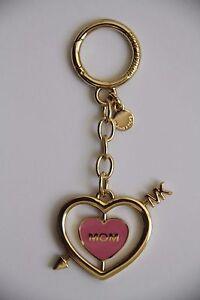 MICHAEL Michael Kors Rotating Heart Key Charm Style # 32T6GKCK1R, Misty Rose