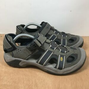 Teva Gray Spider Rubber Trail Water Hiking Sandals Men's Size 10.5 Sandals 6148