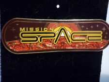 DISNEY EPCOT MISSION SPACE LOGO PIN OLDER STYLE  NEW ON CARD !!